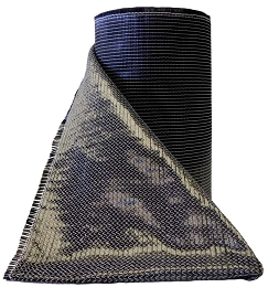12 Inch X 100 Foot Uni-Directional 150 GSM Carbon Fiber Fabric