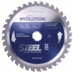 7.25In. 40T Tungsten Carbide Tip Steel Cut Blade