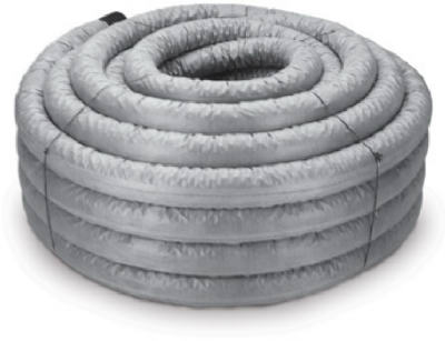 Advanced Drainage Systems 4540010 Solid Corrugated Singlewall Drain Pipe 4 x 10