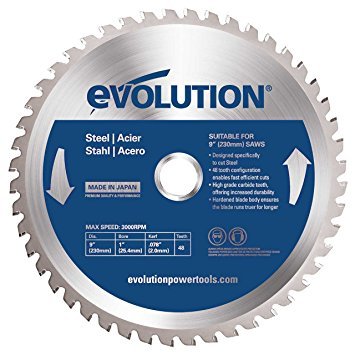 9-Inch X 48-Tooth Steel Cutting Saw Blade