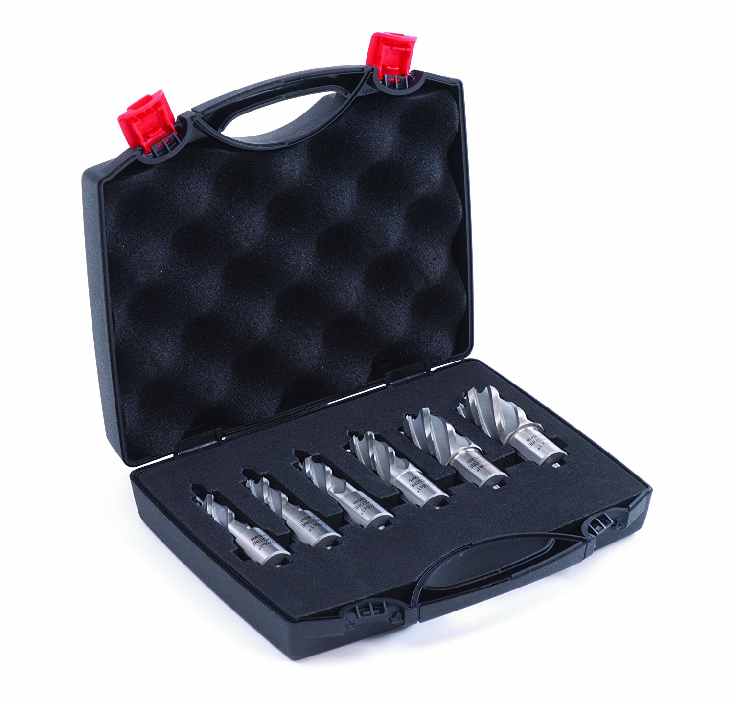Cyclone Premium 1-Inch Annular Cutter Set With Pilot Pins