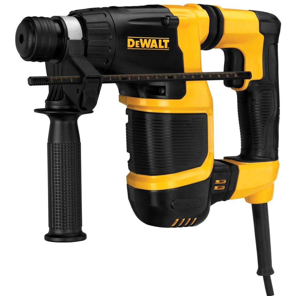 6 Amp 34 In. Corded Sds-Plus Compact L-Shape Concrete Masonry Rotary Hammer