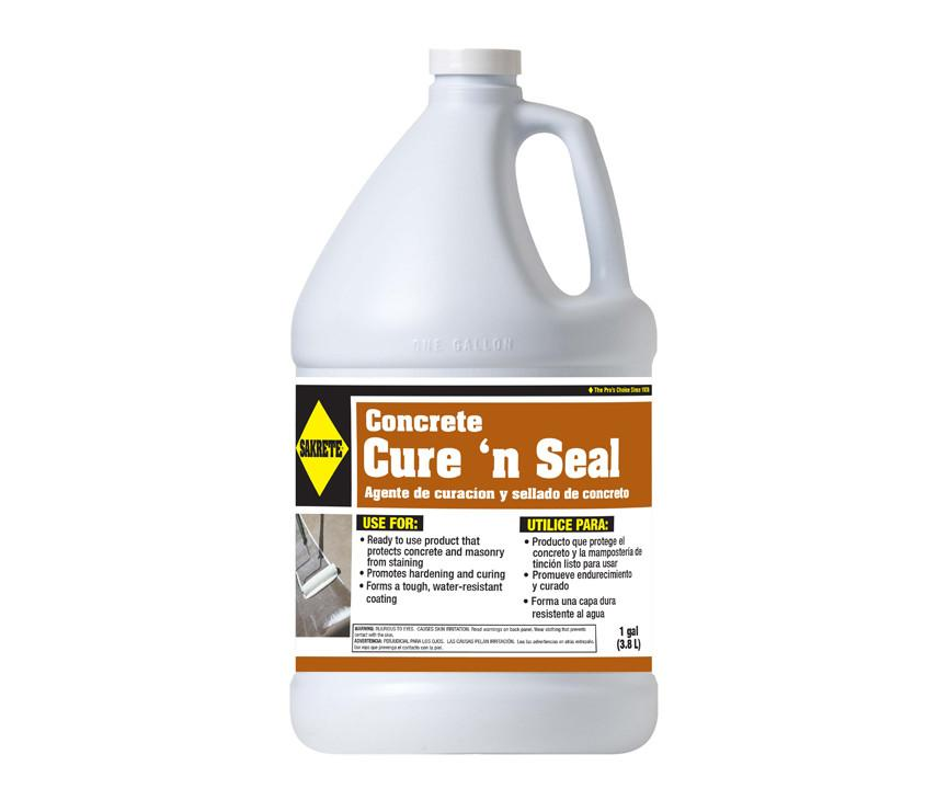 1 Gallon Concrete Cure N Seal