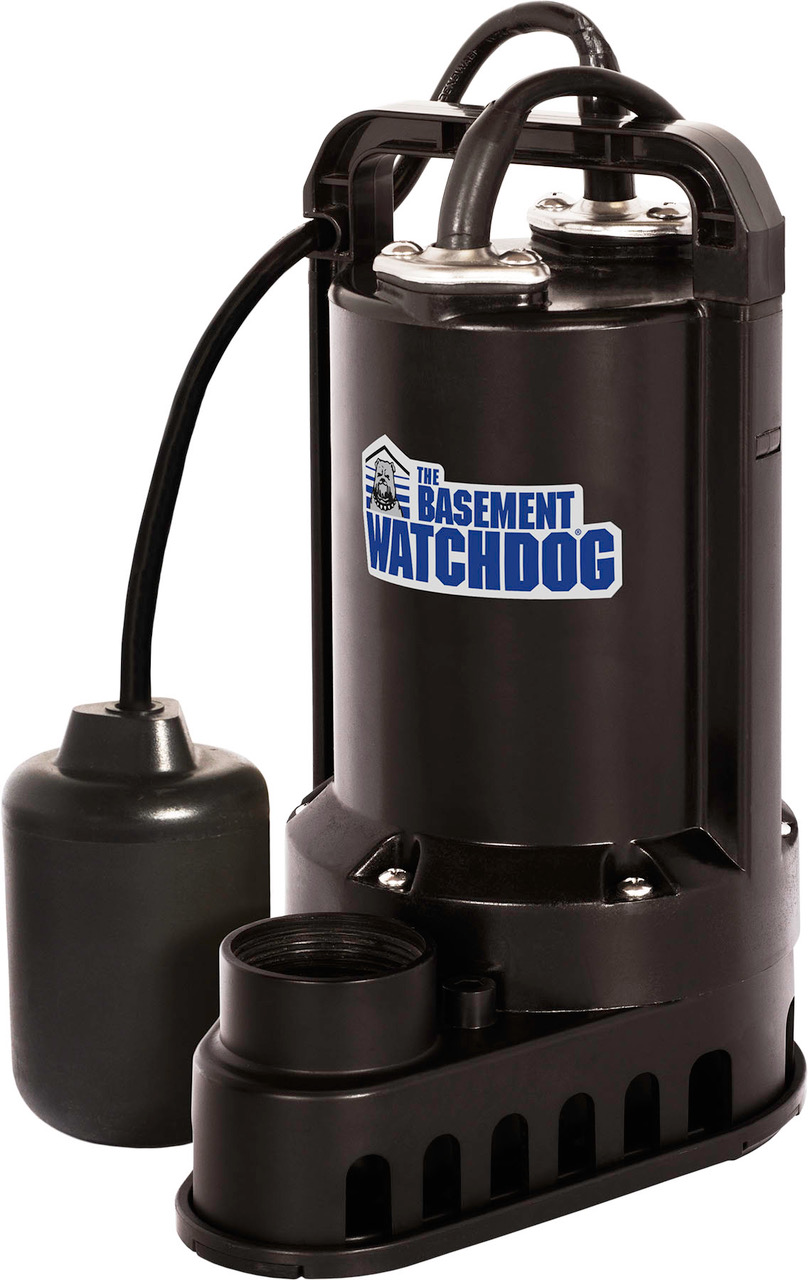 1/3 HP Plastic Sump Pump with Tether Switch