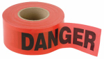 Red Danger Tape 1000 Ft.