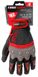 Large Red/Gray/Black Heavy Duty Work Gloves