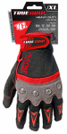 Extra Large Red/Gray/Black Heavy Duty Work Gloves