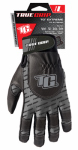 Large Black/Gray Extreme Work Gloves