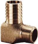 3/4 In. Brass Hydrant Elbow