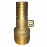1 In. Brass Male Adapter