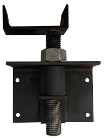 W4 Offset Perpendicular Adjustable Joist Bracket (Painted)