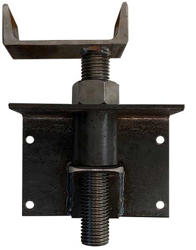 W4 Offset Perpendicular Adjustable Joist Bracket (Unfinished)