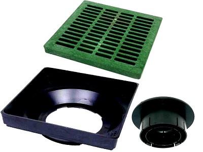111232-MF,1830,Basins and Channel Drains,Nds,18x18 inch Low Profile Basin kit,18x18,inch,Low,Profile,Basin,kit