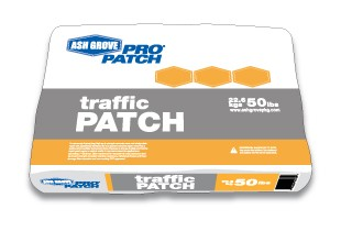 111325-MF,AG-TP-50,Concrete Patcher,Ash Grove,Traffic Patch 50 lbs.,Traffic,Patch,50,lbs.