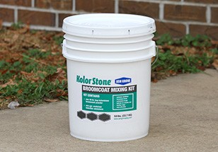 111350-MF,AG-BC-50lb,Concrete Patcher,Ash Grove,50 lbs. Kolor Stone Broomcoat Mixing Kit,50,lbs.,Kolor,Stone,Broomcoat,Mixing,Kit