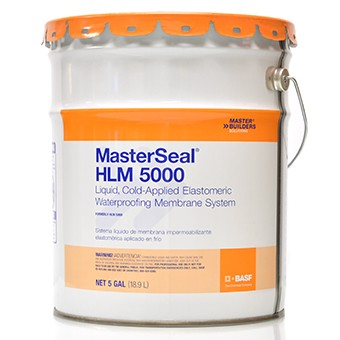 111358-MF,HLM5000,Trowel Grade and Caulking,MasterSeal,5 Gallon Trowel Grade Waterproofing,5,Gallon,Trowel,Grade,Waterproofing
