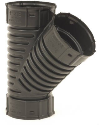 282251,0422AA,Fittings,Advanced Drainage Systems,4 inch Corrugated Snap Wye,4,inch,Corrugated,Snap,Wye