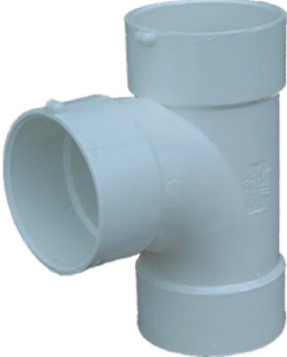 384787,41140,Fittings,Genova,4 inch Sewer and Drainage Sanitary Tee,4,inch,Sewer,and,Drainage,Sanitary,Tee