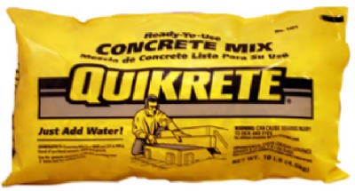 692234,110110,Concrete Mix,Quikrete,10 lbs. Concrete Mix,10,lbs.,Concrete,Mix