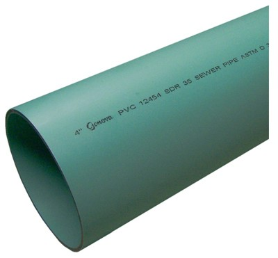 515074,40031,Drainage Pipe,Genova Products/Pipe,3 inch x 10 foot Perforated Sewer Pipe,3,inch,x,10,foot,Perforated,Sewer,Pipe