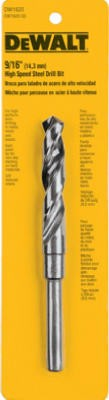 807175,DW1620,Black Oxide Jobber Length Drill Bit,Dewalt,HS Split Point Drill Bit 9/16 in.,HS,Split,Point,Drill,Bit,9/16,in.